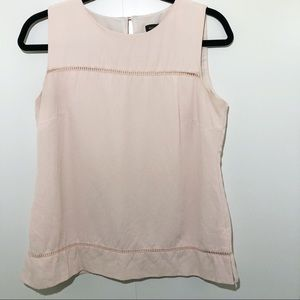Banana Republic Pink Sleeveless Top Size Small